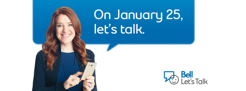 Help CMHA support Bell Let's Talk Day!