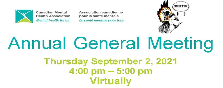 CMHA Annual General Assembly 2020/2021
